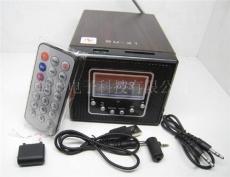 供應FM插SD卡U盤迷你音箱 鋰電池木質音箱SU-21