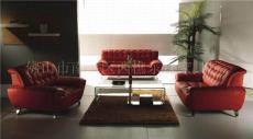 Supply leather Sofa A196