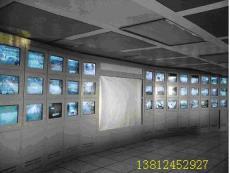 监控电视墙架 屏幕墙机柜