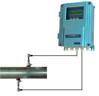 超声波流量计厂家 北京 西安手持式超声波流量计 便携式
