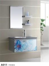 卫浴--洁具--不锈钢浴室柜