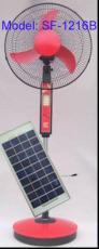 太阳能落地风扇