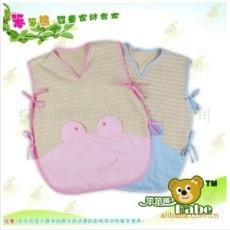 天然彩棉婴儿睡袋 夏用薄睡袋 婴儿睡兜 婴儿防踢被