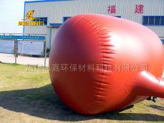 思嘉圆柱形耐候红泥软体沼气池软体沼气池红囊沼气池建设