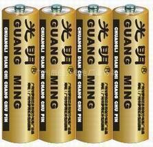 供應AA鋅錳干電池/AAA鋅錳干電池 廣州市創力電池