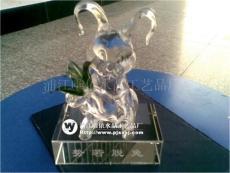 水晶兔子 兔年水晶礼品 水晶纪念品 水晶生肖