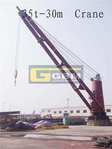 液压克令吊 船用甲板吊 克令吊 船舶机械图片