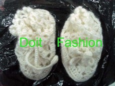 供应各种手工编织童鞋