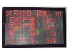 LED電子看板/生產計數看板/生產管理看板 專業定制
