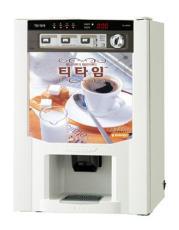 韓國投幣式三料溫熱咖啡機