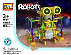 LOZ A0011 益智电动拼装积木 大眼机器人系列