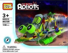 LOZ A0011 益智電動拼裝積木 大眼機器人系列