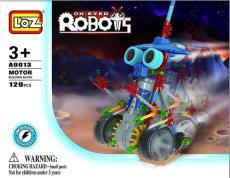 LOZ A0013 益智电动拼装积木 大眼机器人系列