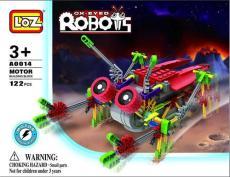 LOZ A0014 益智電動拼裝積木 大眼機器人系列