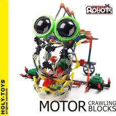 LOZ A0016 益智电动拼装积木 大眼机器人系列