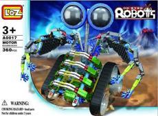 LOZ A0017 益智电动拼装积木 大眼机器人系列