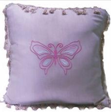 高級純棉布繡花抱枕