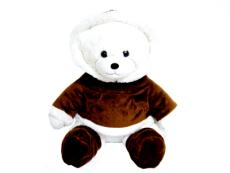 供應毛絨玩具穿衣雪熊