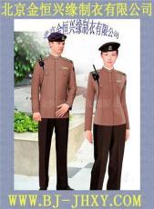 男女时尚保安服装 超市保安服装