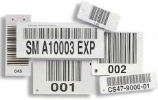供应佛山艾利卷筒条码标签 流水号标签