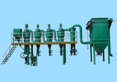 供應青島高效氣流分級機 單晶硅專用分級機粉碎機