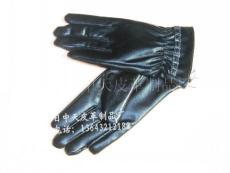 女士pu手套
