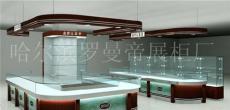 哈尔滨珠宝展柜质量最优 耐用 价格低 罗曼帝展柜厂