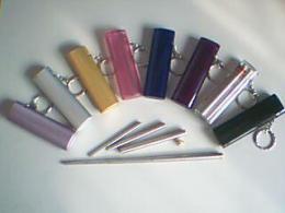 不锈钢筷子 不锈钢三节筷 透明塑料盒三节筷
