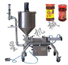 湖南辣椒酱灌装机 牛肉酱灌装机 颗粒浆状灌装机-长沙
