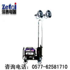 发电机式照明车 上下升降移动照明车 大型事故抢修照明车