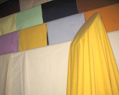 赛络纺精梳棉竹节纱