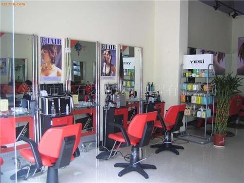 深圳发廊装修公司,深圳发廊装饰公司-小型理发店装修效果图 理发店