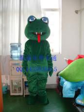 绿蛇卡通服装/卡通人偶服装/行走人偶